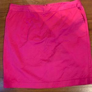 Liz Claiborne size 20w Rasberry colored skirt